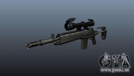 Fusil automatique M14 EBR v2 pour GTA 4
