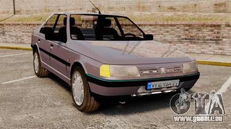 Peugeot 405 GLX pour GTA 4