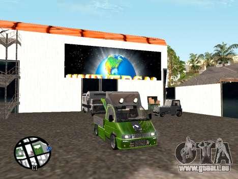 Gazelle Tow Truck für GTA San Andreas rechten Ansicht