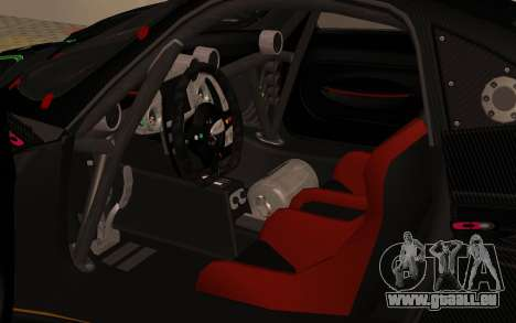 Pagani Zonda R SPS für GTA San Andreas Rückansicht