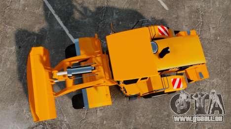 Radlader Caterpillar 966 g VR für GTA 4 rechte Ansicht