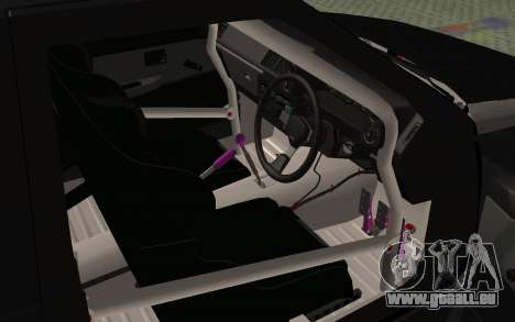 Toyota AE86 Street Drift für GTA San Andreas Rückansicht