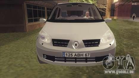Renault Scenic 2 pour GTA San Andreas sur la vue arrière gauche