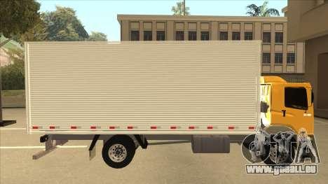 Volkswagen Constellation 13.180 pour GTA San Andreas sur la vue arrière gauche