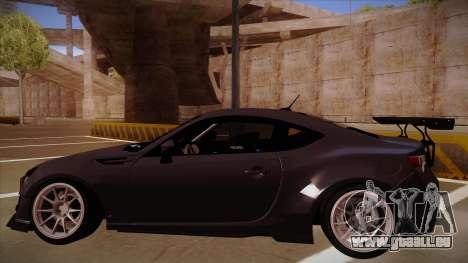 Subaru BRZ Rocket Bunny für GTA San Andreas rechten Ansicht
