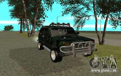 VAZ 21213 pour GTA San Andreas