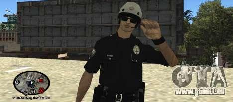Los Angeles Air Support Division Pilot für GTA San Andreas zweiten Screenshot