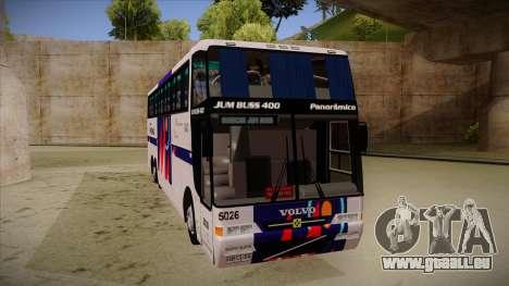 Busscar Jum Buss 400 P Volvo pour GTA San Andreas laissé vue