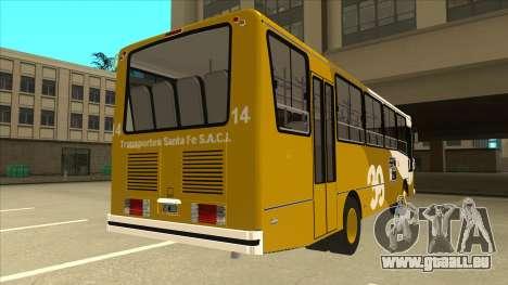 Mercedes-Benz OHL-1320 Linea 39 für GTA San Andreas rechten Ansicht