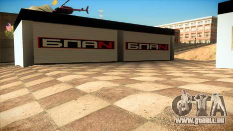 Le garage de Doherty BPAN v1.1 pour GTA San Andreas quatrième écran