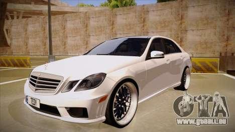Mercedes-Benz E63 6.3 AMG Tedy pour GTA San Andreas