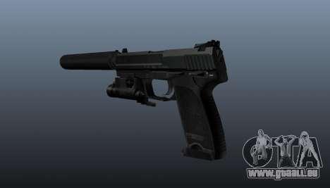 Pistolet HK USP 45 pour GTA 4 secondes d'écran