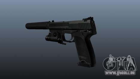 HK USP 45 Pistole für GTA 4 Sekunden Bildschirm