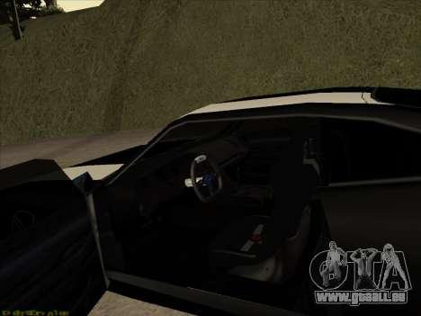 New Jester pour GTA San Andreas vue arrière
