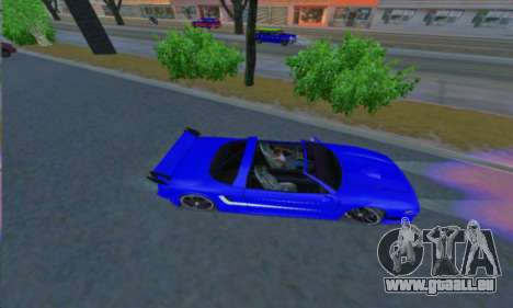 Infernus pour GTA San Andreas laissé vue