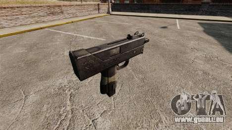 Maschinenpistole Ingram MAC-10 für GTA 4 Sekunden Bildschirm