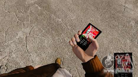 Thèmes pour les marques de Fast-Food téléphones pour GTA 4 secondes d'écran