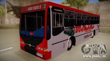 Busscar Urbanus SS Volvo B10 M Busmania pour GTA San Andreas