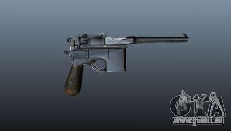V1 Pistolet Mauser pour GTA 4 troisième écran