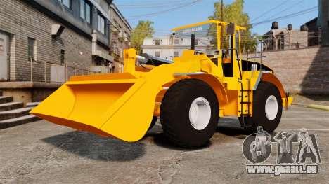 Radlader Caterpillar 966 g VR für GTA 4 Innenansicht