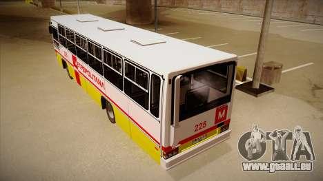 Caio Vitoria MB OF 1318 Metropolitana pour GTA San Andreas vue arrière