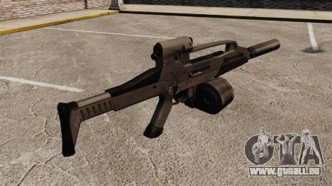 HK XM8 assault rifle v2 pour GTA 4 secondes d'écran