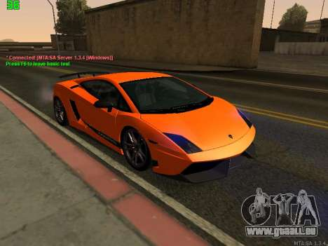 Lamborghini Gallardo LP560-4 SL UGR Altecho für GTA San Andreas