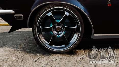 Shelby GT500 für GTA 4 Rückansicht