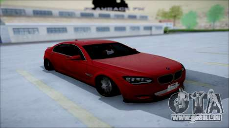 BMW 750 Li Vip Style für GTA San Andreas Rückansicht