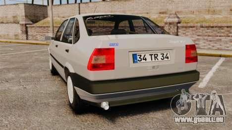Fiat Tempra SX.A für GTA 4 hinten links Ansicht