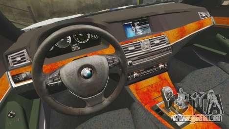 BMW M5 Croatian Police [ELS] für GTA 4 Innenansicht