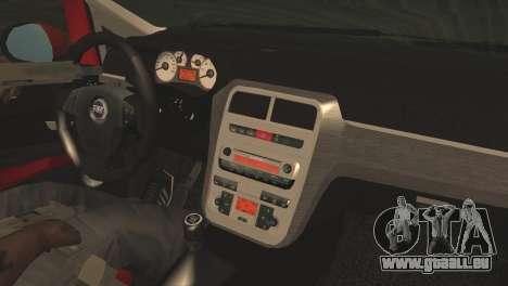 Fiat Grande Punto pour GTA San Andreas vue de droite