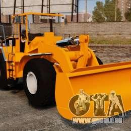 Frontal Chargeuse sur pneus Caterpillar 966 g pour GTA 4