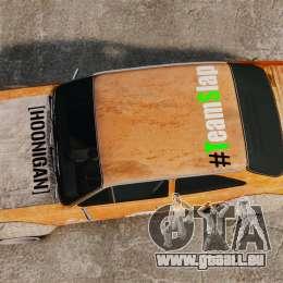 Ford Escort Mk1 Rust Rod für GTA 4 rechte Ansicht