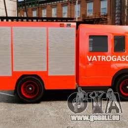 Mercedes-Benz Atego Koprivnica Fire Dept. [ELS] für GTA 4 linke Ansicht