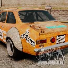 Ford Escort Mk1 Rust Rod für GTA 4 hinten links Ansicht