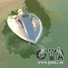 Motomarine de GTA V pour GTA 4 Vue arrière de la gauche