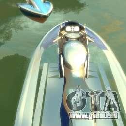Motomarine de GTA V pour GTA 4 est une gauche