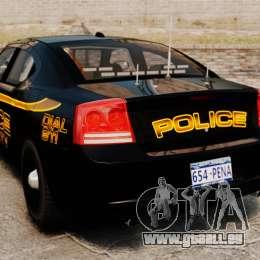 Dodge Charger 2008 LCPD Slicktop [ELS] für GTA 4 hinten links Ansicht