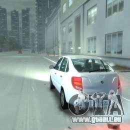 Lada Granta Hatch - VAZ 2191 pour GTA 4 est une gauche