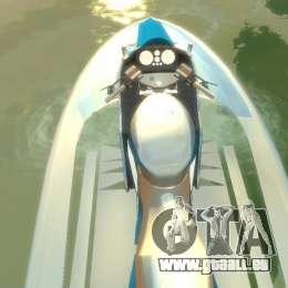 Motomarine de GTA V pour GTA 4 est un droit