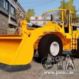 Frontal Chargeuse sur pneus Caterpillar 966 g pour GTA 4 Vue arrière