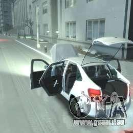 Lada Granta Hatch - VAZ 2191 pour GTA 4 est un droit