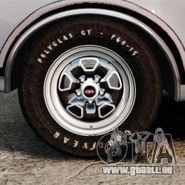 Oldsmobile Cutlass Hurst 442 1969 v2 pour GTA 4 Vue arrière
