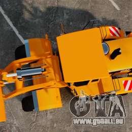 Frontal Chargeuse sur pneus Caterpillar 966 g pour GTA 4 est un droit