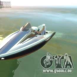 Wassermotorräder von GTA V für GTA 4