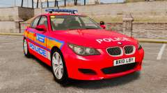 BMW M5 E60 Metropolitan Police 2010 ARV [ELS]