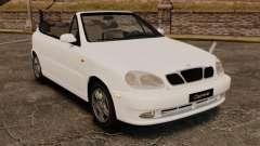 Daewoo Lanos 1997 Cabriolet Concept