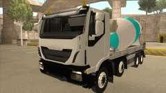 Hi-Land Betonmischer LKW Iveco für GTA San Andreas