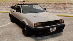 Die Cabrio-Version des der Blista